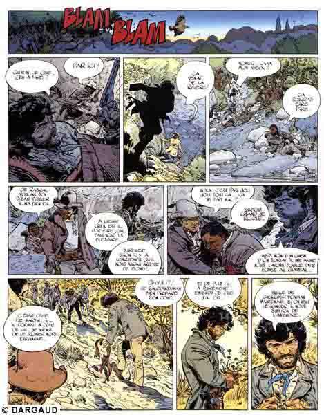 Blueberry, Prix du sang (Le), CORTEGGIANI/WILSON, bd, Dargaud éditeur, bande dessinée