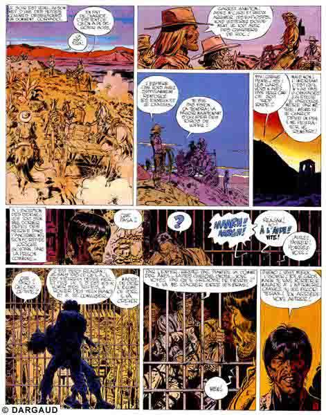 Blueberry, Homme qui valait 500.000 $ (L'), CHARLIER/GIRAUD, bd, Dargaud éditeur, bande dessinée