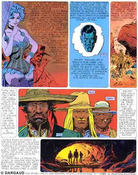 Blueberry, Ballade pour un cercueil, CHARLIER/GIRAUD, bd, Dargaud éditeur, bande dessinée