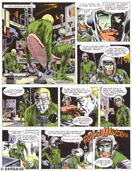 Bob Morane, Intégrale Bob Morane tome 1 - Atome et brouillard, VERNES/VANCE, bd, Dargaud éditeur, bande dessinée