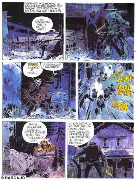 Blueberry, Jeunesse de Blueberry (La), CHARLIER/GIRAUD, bd, Dargaud éditeur, bande dessinée