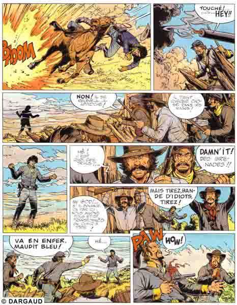 Blueberry, Solution Pinkerton (La), CORTEGGIANI/BLANC-DUMONT, bd, Dargaud éditeur, bande dessinée