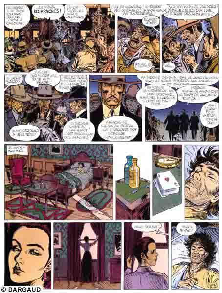 Blueberry, Ombres sur Tombstone, GIRAUD/Jean, bd, Dargaud éditeur, bande dessinée