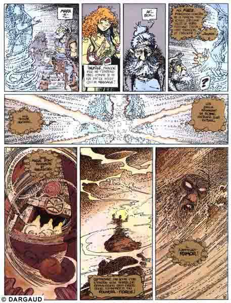 Quête de l'Oiseau du temps (La), Conque de Ramor (La), LETENDRE/LOISEL, bd, Dargaud éditeur, bande dessinée
