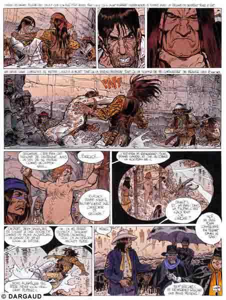 Blueberry, Geronimo l'apache, GIRAUD/Jean, bd, Dargaud éditeur, bande dessinée