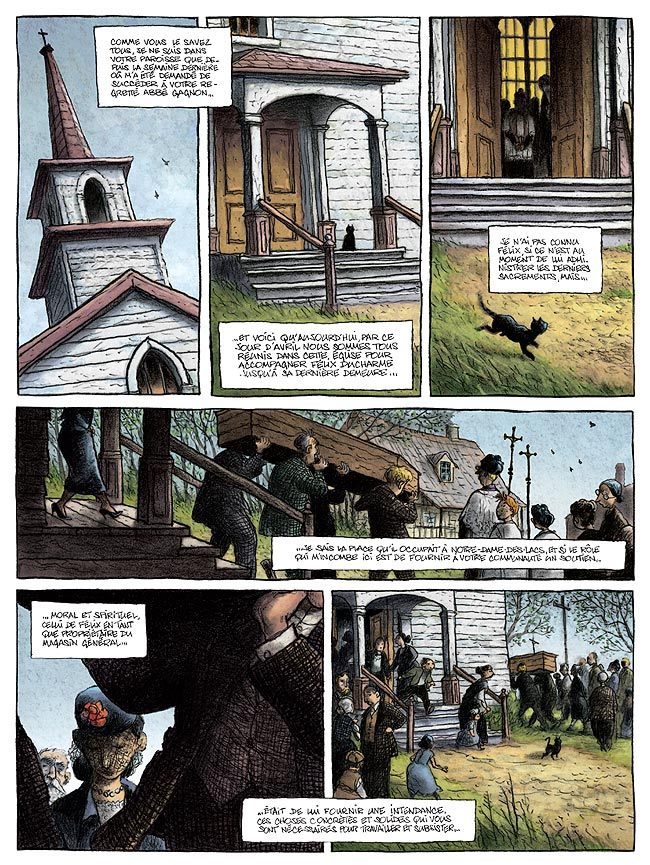Magasin général, Marie, LOISEL/TRIPP, bd, Casterman, bande dessinée
