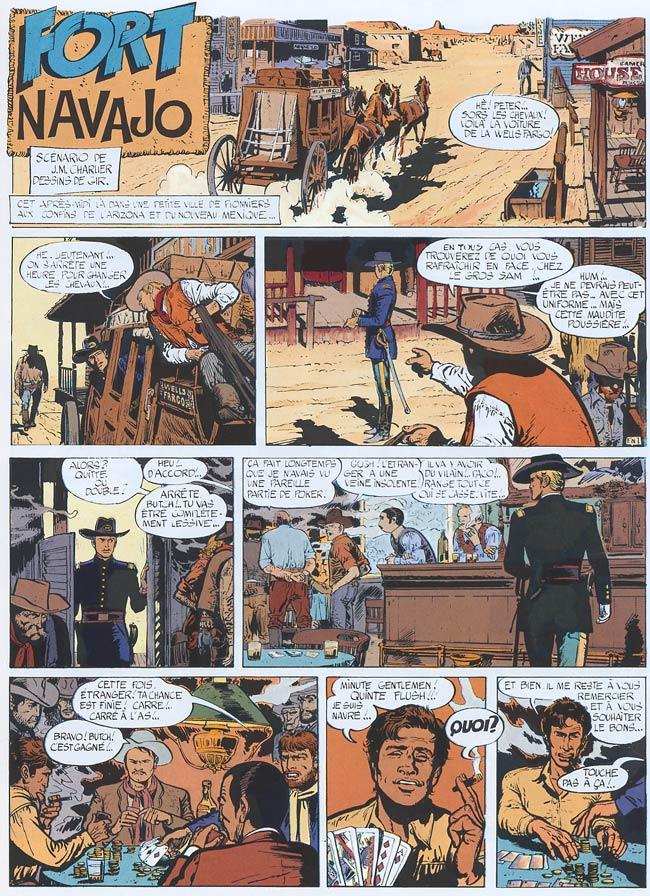 Blueberry, Fort Navajo, CHARLIER/GIRAUD, bd, Dargaud éditeur, bande dessinée