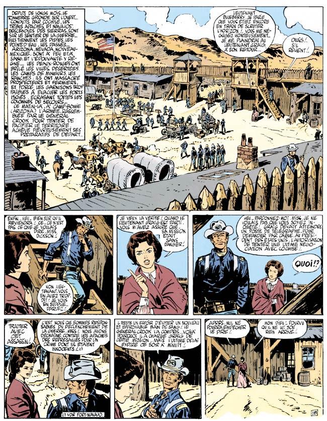 Blueberry, Cavalier perdu (Le), CHARLIER/GIRAUD, bd, Dargaud éditeur, bande dessinée
