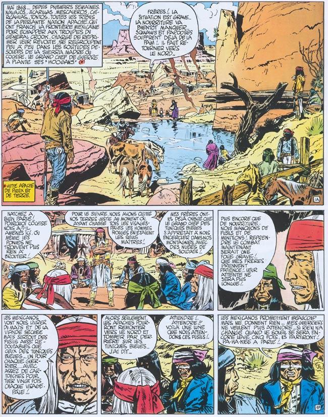 Blueberry, Piste des Navajos (La), CHARLIER/GIRAUD, bd, Dargaud éditeur, bande dessinée