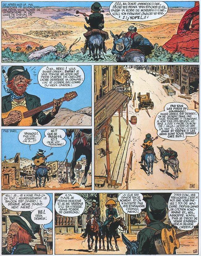 Blueberry, Homme à l'étoile d'argent (L'), CHARLIER/GIRAUD, bd, Dargaud éditeur, bande dessinée
