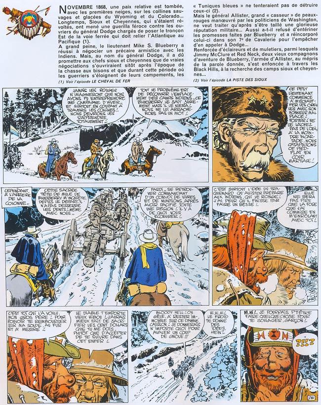 """Blueberry, Général """"Tête jaune"""" (Le), CHARLIER/GIRAUD, bd, Dargaud éditeur, bande dessinée"""
