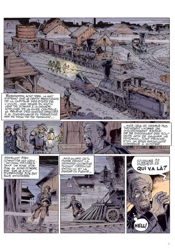 Blueberry, Dernier train pour Washington, CORTEGGIANI/BLANC-DUMONT, bd, Dargaud éditeur, bande dessinée