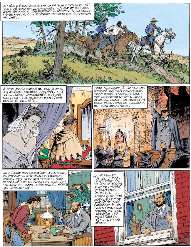 Blueberry, Il faut tuer Lincoln, CORTEGGIANI/BLANC-DUMONT, bd, Dargaud éditeur, bande dessinée