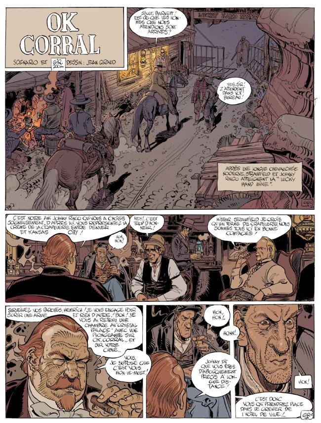 Blueberry, OK Corral, GIRAUD/Jean, bd, Dargaud éditeur, bande dessinée