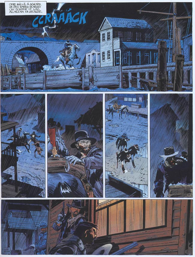 Blueberry, Poursuite impitoyable (La), CORTEGGIANI/WILSON, bd, Dargaud éditeur, bande dessinée