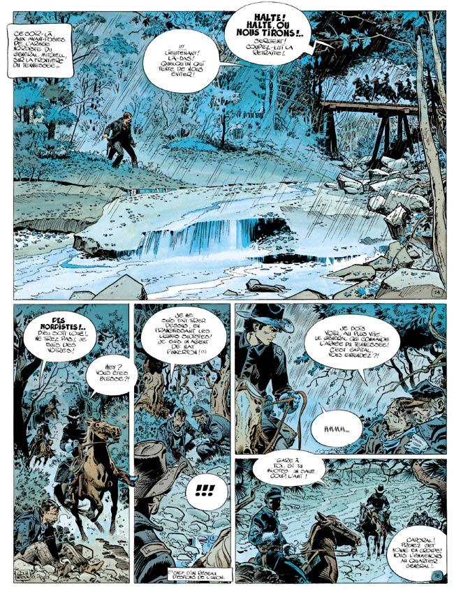 Blueberry, Raid infernal (Le), CHARLIER/WILSON, bd, Dargaud éditeur, bande dessinée