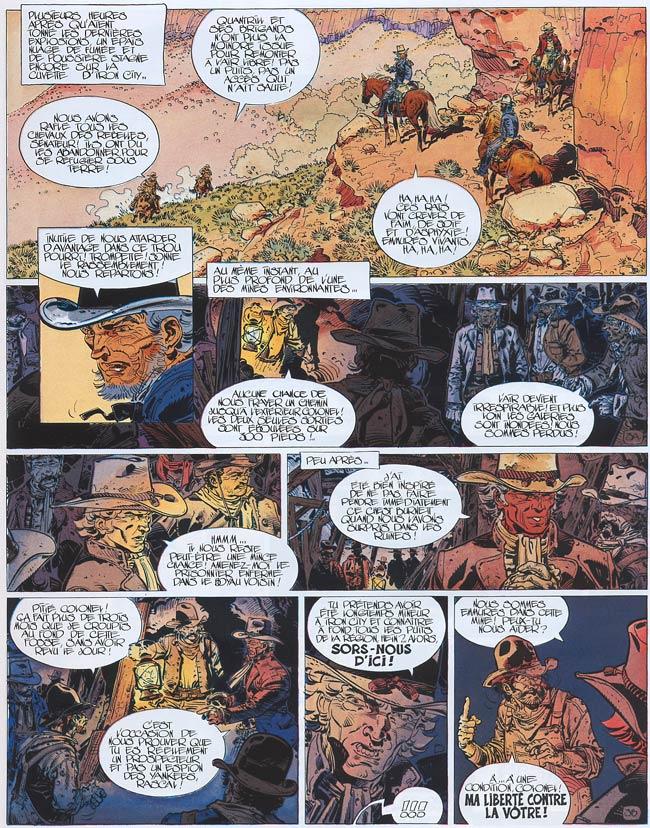 Blueberry, Terreur sur le Kansas, CHARLIER/WILSON, bd, Dargaud éditeur, bande dessinée