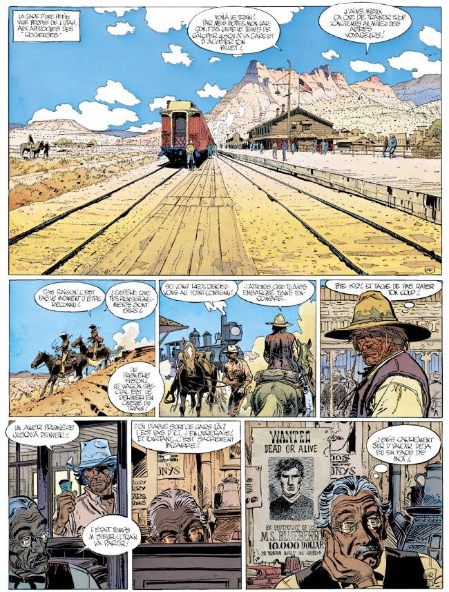 Blueberry, Bout de la piste (Le), CHARLIER/GIRAUD, bd, Dargaud éditeur, bande dessinée
