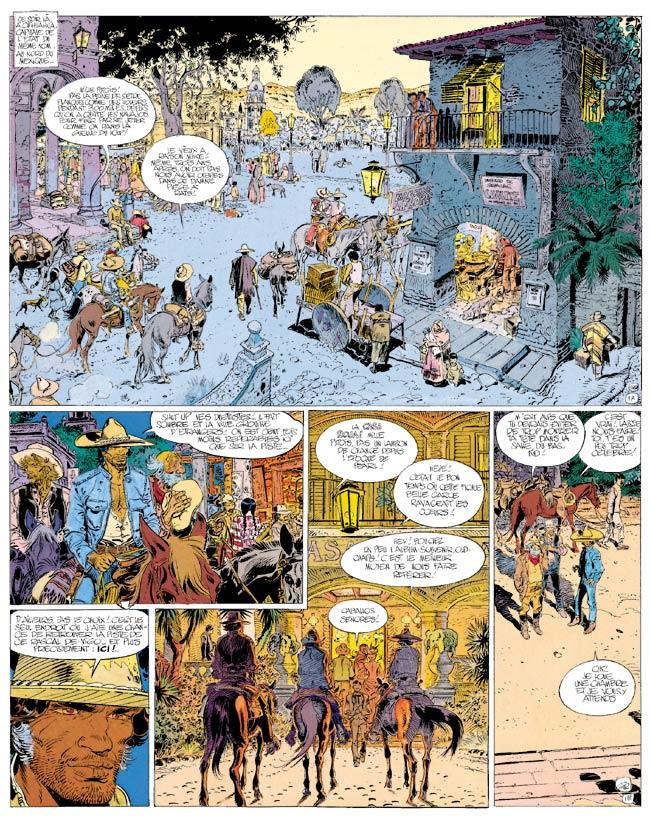 Blueberry, Dernière carte (La), CHARLIER/GIRAUD, bd, Dargaud éditeur, bande dessinée