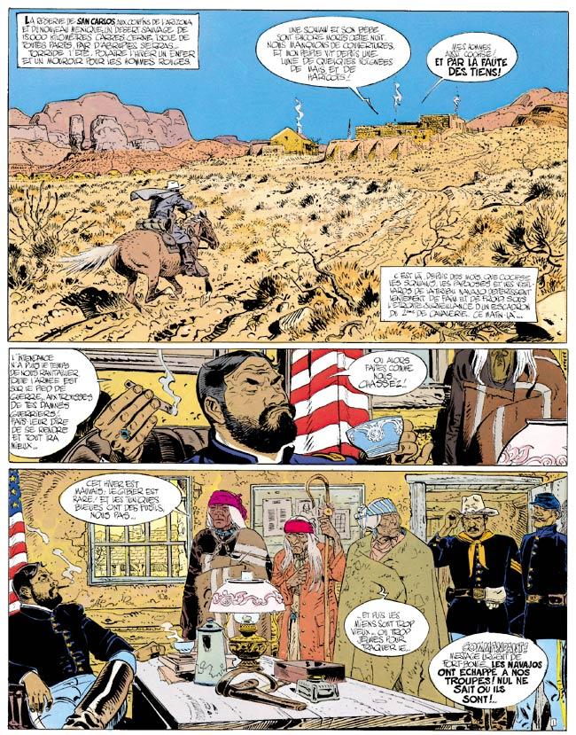 Blueberry, Tribu fantôme (La), CHARLIER/GIRAUD, bd, Dargaud éditeur, bande dessinée