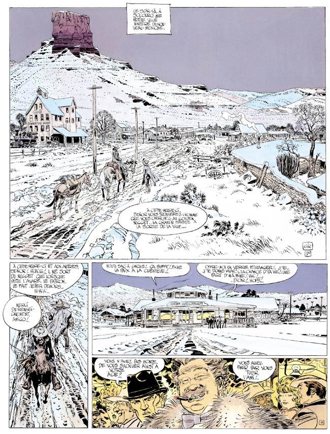 Blueberry, Longue marche (La), CHARLIER/GIRAUD, bd, Dargaud éditeur, bande dessinée