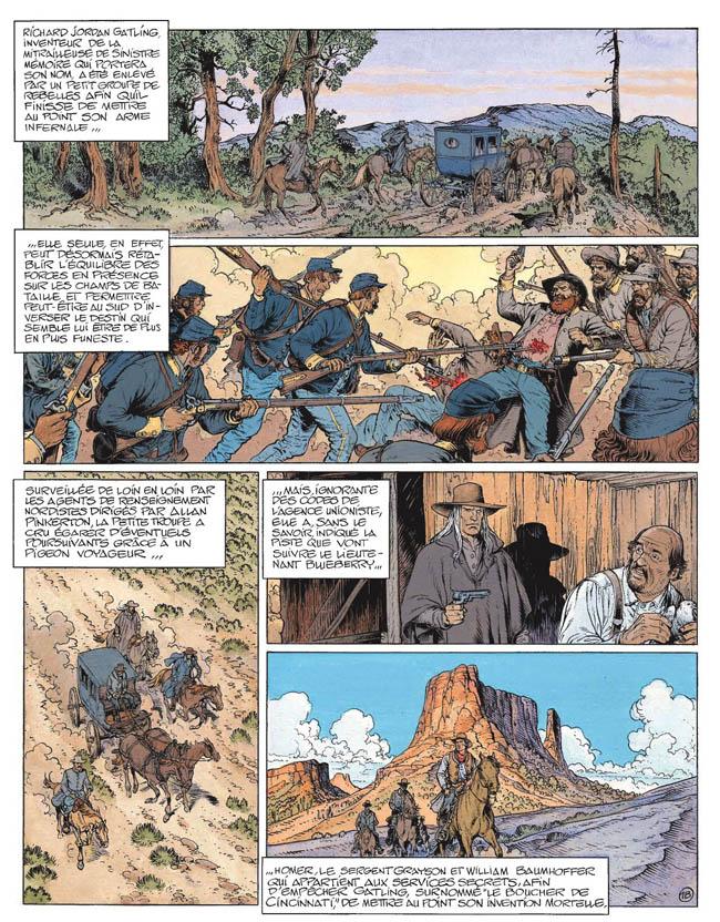 Blueberry, Sirène de Veracruz (La), CORTEGGIANI/BLANC-DUMONT, bd, Dargaud éditeur, bande dessinée