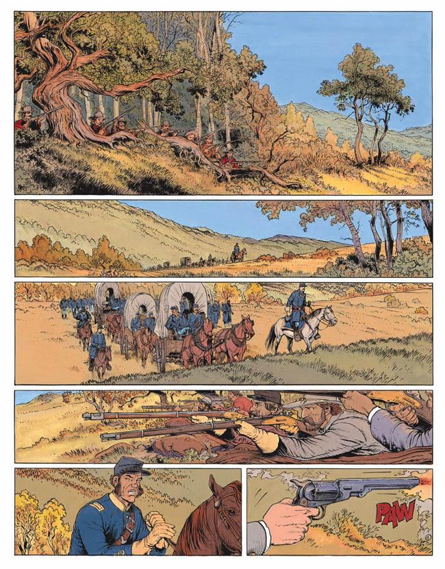 Blueberry, 100 dollars pour mourir, CORTEGGIANI/BLANC-DUMONT, bd, Dargaud éditeur, bande dessinée