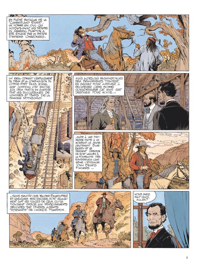 Blueberry, Sentier des larmes (Le), CORTEGGIANI/BLANC-DUMONT, bd, Dargaud éditeur, bande dessinée