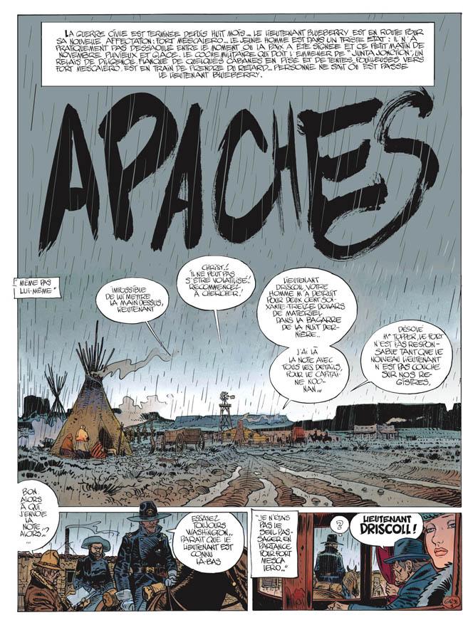 Blueberry, Apaches, GIRAUD/Jean, bd, Dargaud éditeur, bande dessinée
