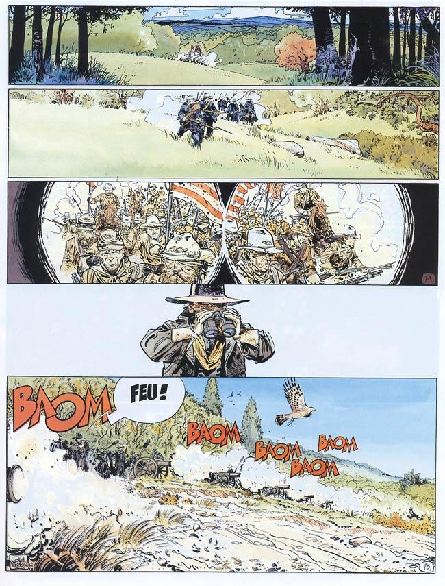 Blueberry, Trois hommes pour Atlanta, CORTEGGIANI/WILSON, bd, Dargaud éditeur, bande dessinée