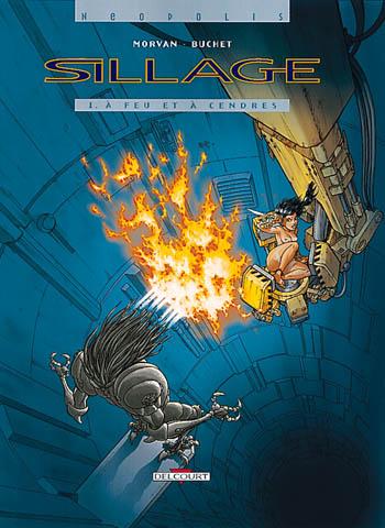 Sillage, , MORVAN/BUCHET, bd, Delcourt, bande dessinée
