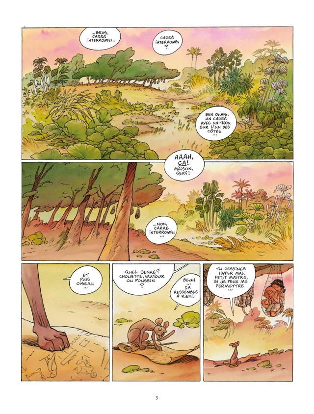 Kheti, fils du Nil, Jugement d'Osiris, DETHAN/MAZAN, bd, Delcourt, bande dessinée