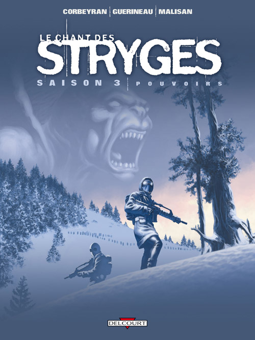 Stryges (L'univers des), , CORBEYRAN/GUERINEAU, bd, Delcourt, bande dessinée