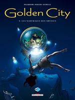 Golden city, Naufragés des abysses (Les), PECQUEUR/MALFIN, bd, Delcourt, bande dessinée
