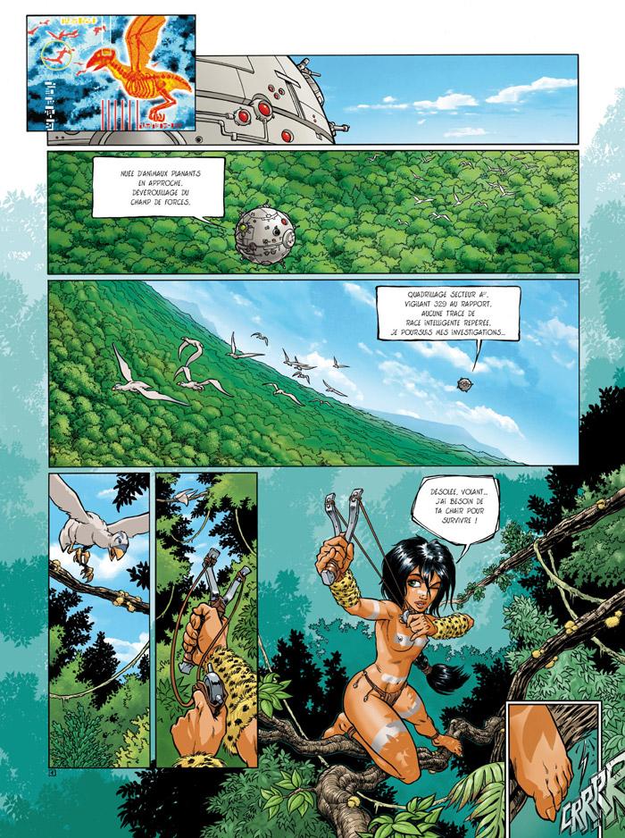Sillage, Sillage intégrale (tomes 1 à 3), MORVAN/BUCHET, bd, Delcourt, bande dessinée