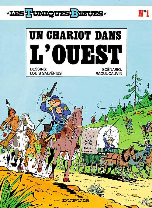 Tuniques bleues (Les), , SALVERIUS/CAUVIN, bd, Dupuis, bande dessinée