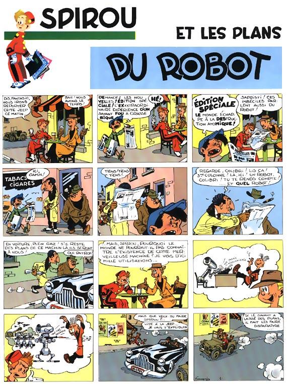 Spirou et Fantasio, Débuts d'un dessinateur (Les), FRANQUIN, bd, Dupuis, bande dessinée