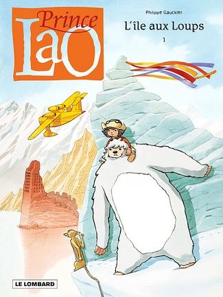 Prince Lao, , GAUKLER, bd, Le Lombard, bande dessinée