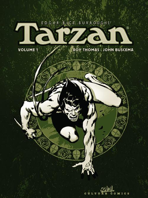 Tarzan, , BUSCEMA/THOMAS, bd, Soleil productions, bande dessinée