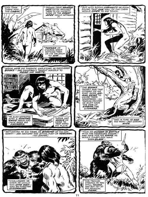 Tarzan, Tarzan intégrale tome 1, BUSCEMA/THOMAS, bd, Soleil productions, bande dessinée