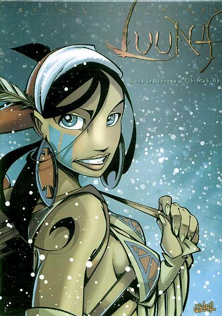 Luuna, , CRISSE/KERAMIDAS/GARCIA, bd, Soleil productions, bande dessinée