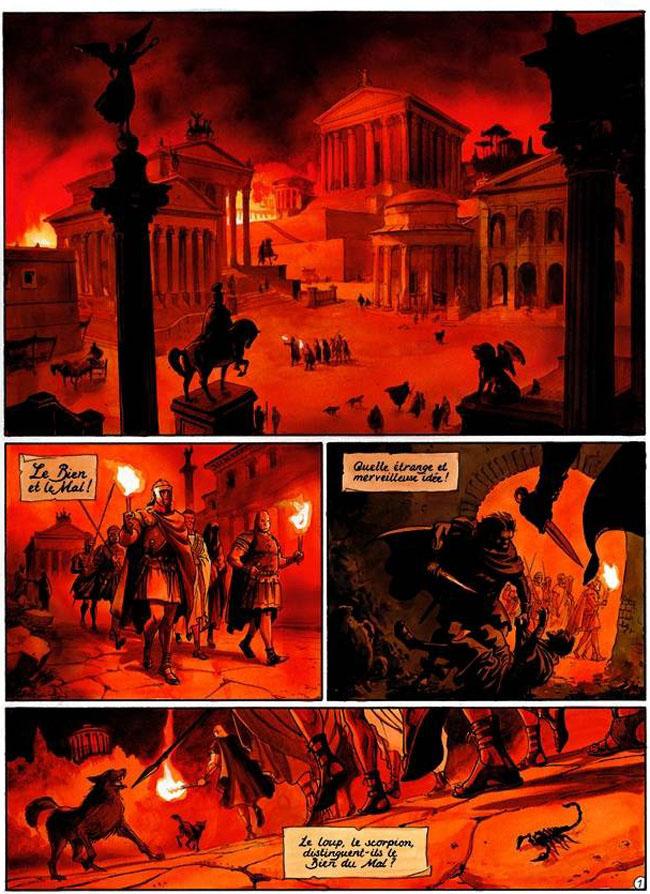 Scorpion (Le), Marque du Diable (La), MARINI/DESBERG, bd, Dargaud éditeur, bande dessinée